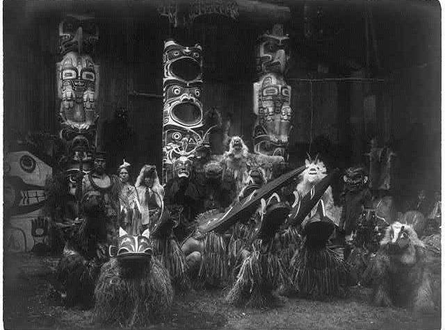 Il Potlatch tra i Nativi della Costa Nord-Occidentale dell'America Settentrionale