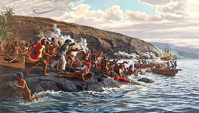 Universi Cognitivi Differenti: James Cook e Indigeni Hawaiani