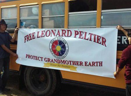 Lettera di Leonard Peltier a Sostegno Della Lotta di Standing Rock