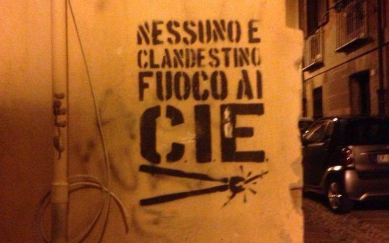 """""""Fuoco ai CIE"""" – Non Solo Uno Slogan, Ma Una Pratica di Liberazione"""