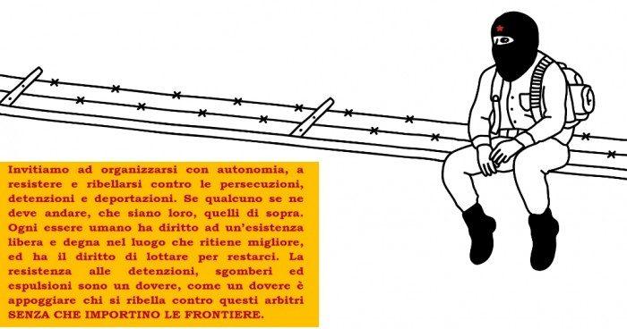 """""""Siamo la Crepa nel Vostro Muro"""" – A Proposito di Capitalismo, Globalizzazione e Frontiere"""
