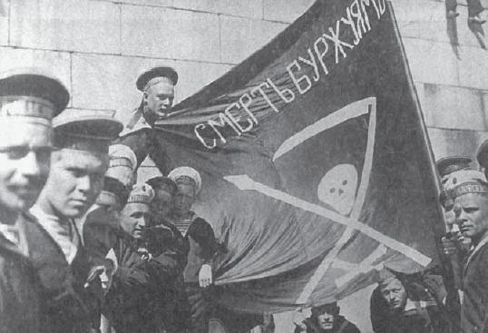 Due contributi anarchici per ricordare il centenario della Rivoluzione d'Ottobre